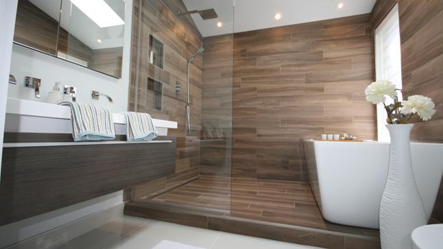 Les avantages du verre tremp pour les parois de douche - La redoute tapis salle de bain ...