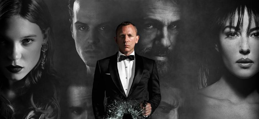James Bond 007 : Le grand blond avec une tenue noire...