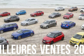 Les voitures les plus vendues en France en 2015